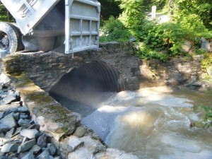 Limestone sand dosing of Stony Brook in 2011 in the Mehoopany Creek Watershed