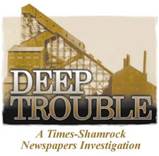 Deep Trouble Logo