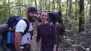 Kelsey Biondo, EPCAMR's newly promoted GIS Mine Map Program Coordinator and her boyfriend Bill Smith.